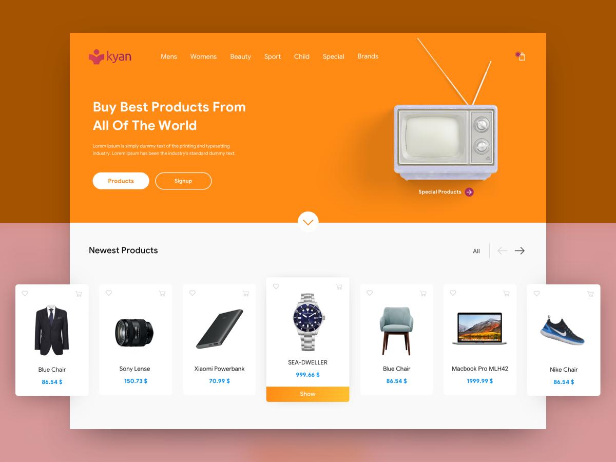 Разработка онлайн магазина в Днепре
